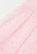 POP CANDY - Girls unicorn mesh dress - pink