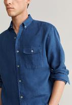 MANGO - Calcuta shirt - navy