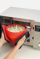 Lékué - Microwave popcorn maker - orange
