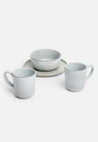 Sixth Floor - Brisa mug set of 4 - stone