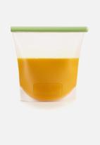 Lékué - Reusable silicone bag- clear1500ml
