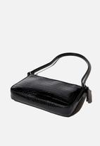 Rubi - Lexi underarm bag - black texture