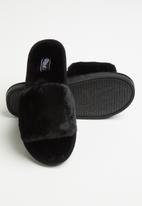 Miss Black - Rella slipper - black