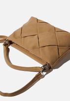 Rubi - Heidi quilted bag - sandstone nubuck