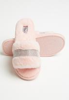Miss Black - Rella 3 slipper - pink