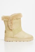 Miss Black - Rae slipper boot - Neutral