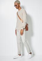 Superbalist - Raglan textured knit - beige