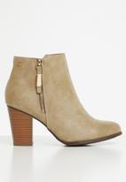 Miss Black - Alham ankle boot - neutral