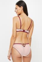 DORINA - Freedom classic brief - pink & burgundy