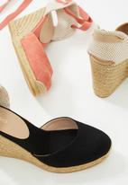 ALDO - Muschett suede wedge heel - coral