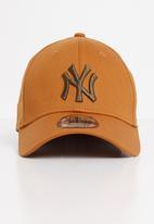 New Era - League essential 39thirty new york yankees - brown