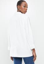Cotton On - Ultimate casual blazer - white