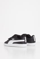 PUMA - Infants Puma up sneakers - black & white