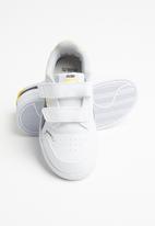 PUMA - Peanuts shuffle v sneakers - puma white/puma black-maize