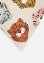 Sixth Floor - Roar printed cushion cover - multi