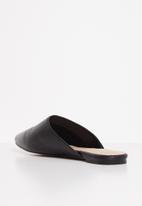 ALDO - Afiliclya leather mule - black
