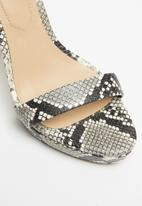 ALDO - Varalith heel - black & white