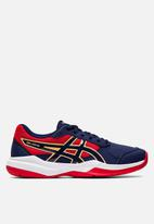 ASICS - Gel-game 7 gs sneakers - blue & red