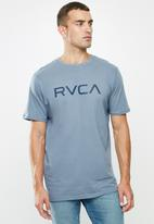 RVCA - Big rvca short sleeve tee - blue