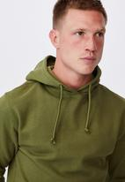 Cotton On - Essential fleece pullover - olive