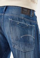 G-Star RAW - Scutar 3d slim tapered c melfort denim o - faded crystal lake