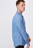 Cotton On - Fitzroy denim shirt - blue