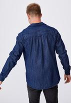 Cotton On - Fitzroy denim shirt - indigo