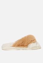 Cotton On - Knot crossover slipper - buttermilk multi
