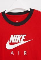 Nike - Nike nsw tee ringer nike air - red