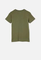 Cotton On - Max short sleeve tee - swag green