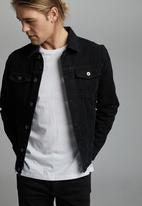 Cotton On - Rodeo jacket - black