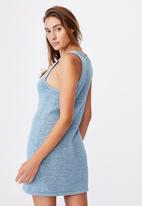 Cotton On - Summer lounge slip dress - blue
