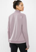 Nike - 1/2 Zip through swoosh midlayer - purple