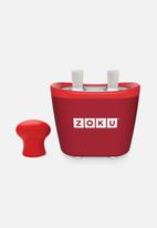 Zoku - Duo quick pop maker - red