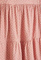 Superbalist Kids - Younger girls tier dress - pink