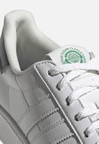 adidas Originals - Superstar bold - ftwr white/off white/green