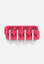 Zoku - Flamingo pop mold - pink