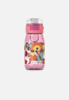 Zoku - Flip gulp bottle - pink