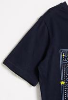 POP CANDY - Styled short sleeve tee - navy