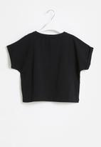 Sissy Boy - Love' foil logo top, loosely fitted - black