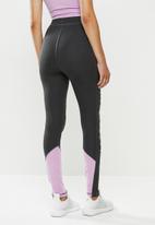 SISSY BOY - Leggings with tie dye panels - grey & lilac