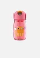 Zoku - Flip straw bottle - pink