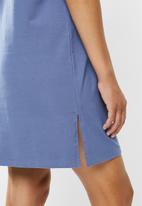 adidas Originals - Tee dress - blue
