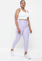 Cotton On - Curve active reversible 7/8 tight - lilac