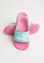PUMA - Popcat 20 backstrap ps shoes - blue & pink