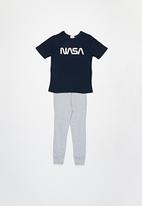 Superbalist Kids - Nasa pyjama set - navy & grey