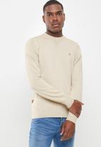 G-Star RAW - Classic sport knit - neutral