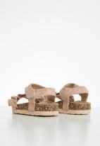MINOTI - Girls shimmer sandal - pink
