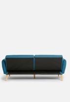 Sixth Floor - Jaime sleeper couch - dark blue