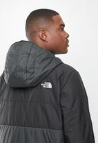 The North Face - Insulated fanorak - grey & black